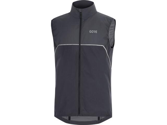 GORE WEAR R7 Partial Gore-Tex Infinium Vest Herrer, black/terra grey